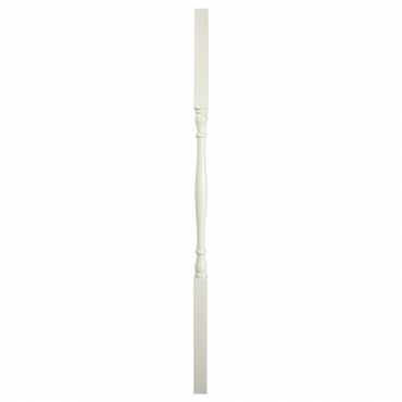 stairs and railings supplies Spindle White Round