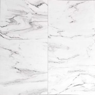 floor tiles wall tiles Fusion White Tru-Stone Porcelain 24x24 Gloss
