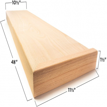 stairs and railings supplies Tread Right Red Oak Square Edge