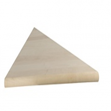 stairs and railings supplies Tread Right PIE Shape Red Oak Square Edge