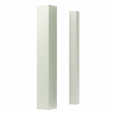 stairs and railings supplies Spindle White Square Plain