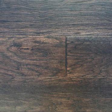 engineered Ambiance Antique Charm Wirebrush T&G Hickory Engineered Hardwood Flooring