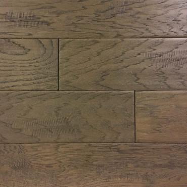 engineered Ambiance Urban Grey Wire Brushed Hickory Engineered Hardwood Flooring