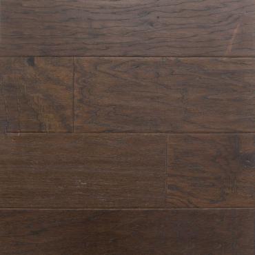 engineered Ambiance Godiva Handscraped Hickory Engineered Hardwood Flooring