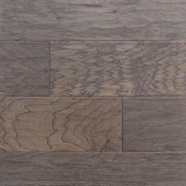 engineered Ambiance Steel Grey Handscraped Hickory Engineered Hardwood Flooring