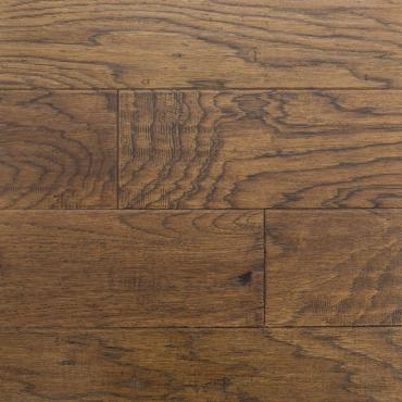 engineered Ambiance Irish Coffee Handscraped Hickory Engineered Hardwood Flooring