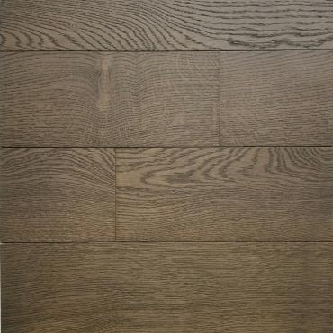 engineered Ambiance Swiss Stone Wire Brushed White Oak Engineered Hardwood Flooring
