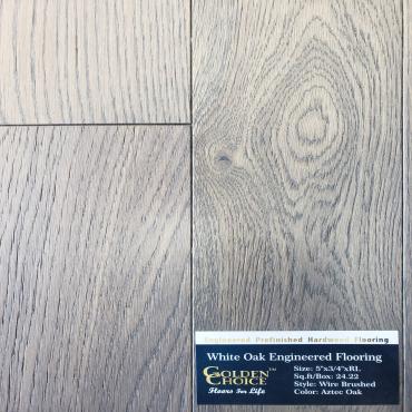 engineered Engineered White Oak Aztec Oak Hardwood Flooring