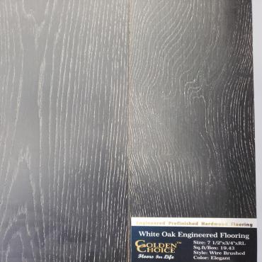 engineered Engineered White Oak Elegant Hardwood Flooring