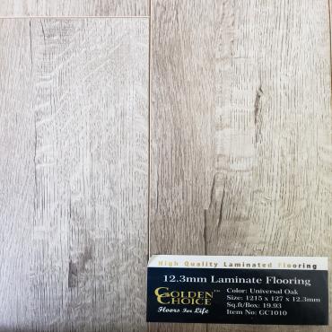 laminate Universal Oak GC1010 Laminate Flooring (1219mm x 127mm x 12mm)