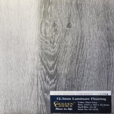 laminate Puro Grey GC1032 Laminate Flooring (1219mm x 165mm x 12.3mm)