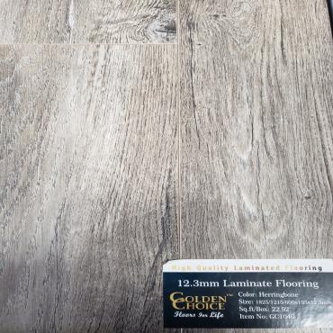 laminate Herringbone GC1040 Laminate Flooring (610/1219/1829mm x 195mm x 12.3mm)