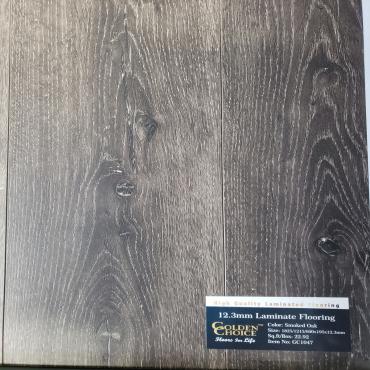 laminate Smoked Oak GC1047 Laminate Flooring (610/1219/1829mm x 195mm x 12.3mm)