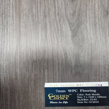 vinyl plank 7mm Teak Manila GC2010 Vinyl Plank Flooring