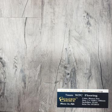 vinyl plank 7mm Bianco Zen GC2015  Vinyl Plank Flooring
