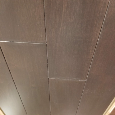 """hardwood Cashmere Woods Ebony 3-1/4"""" Maple Solid Hardwood Flooring"""