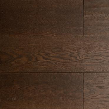 """engineered Engineered Oak Black Brown Handscraped & Distressed 6"""" Hardwood Flooring"""