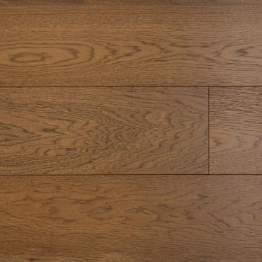 "engineered Engineered Hickory Barcelona Wire Brushed 7-1/2"" Hardwood Flooring"