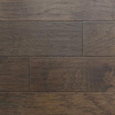 engineered Engineered Ambiance Hickory Black Moon Wire Brushed Hardwood Flooring