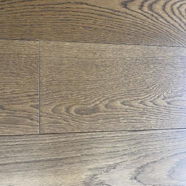 "engineered Engineered Oak Camel 6"" Handscraped & Distressed Hardwood Flooring"