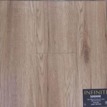 "laminate Infiniti Sunshine Laminate Flooring (6.61"" x 12.3mm) -V Groove"