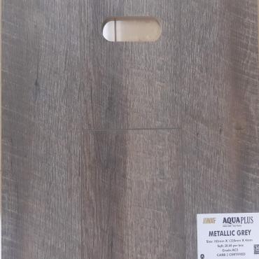 vinyl plank Metallic Grey NAF SPC 4mm