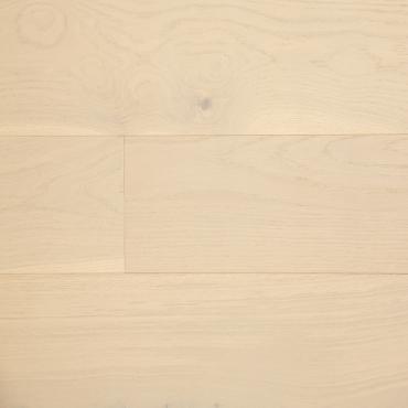 "engineered Engineered Oak Cloud 7-1/2"" Wire Brushed Hardwood Flooring"