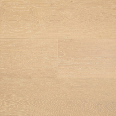 "engineered Engineered Oak Snowwhite 7-1/2"" Wire Brushed Hardwood Flooring"
