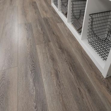 vinyl plank Cali Vinyl Pro Mute Step Dockwood Oak Vinyl Plank Flooring