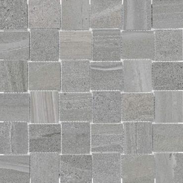"floor tiles wall tiles CARLETON 63-578 EARTH 2""X2""  BASKETWEAVE MOS 12X12 (GRY) 9.7Sqf/BoX"