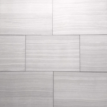 floor tiles wall tiles Serenity Silver Tru-Stone Porcelain 12x24 Matte