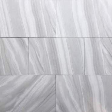 floor tiles wall tiles Ocean Wave Light Grey Tru-Stone Porcelain 12x24 Polished