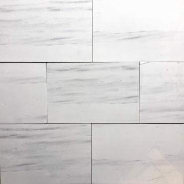 floor tiles wall tiles Velar White Tru-Stone Porcelain 12x24 Polished