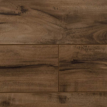 "laminate Life Stepp Gray Smoke Hand Scraped Laminate Flooring (12.3mm x 5"" x RL)"