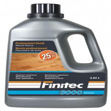 accessories FINITEC 3000 FINISH SATIN 3.64 L
