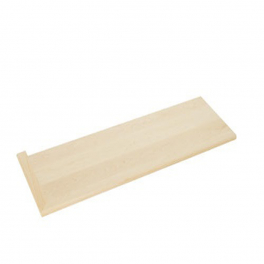 stairs and railings supplies Tread Left Hard Maple Round Edge