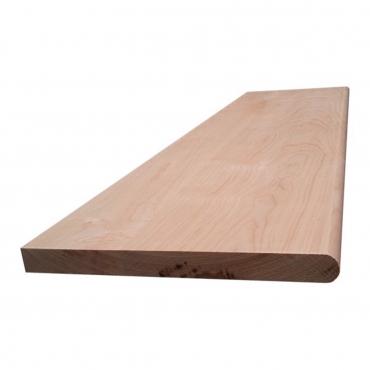 stairs and railings supplies Tread Box Hard Maple Round Edge