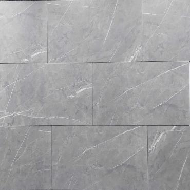 floor tiles wall tiles Torino Light Grey Tru-Stone Porcelain12x24 Matte